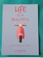 LANCOME  LIFE IS A BEAUTIFUL - Duftkarten