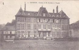 CPA Hayange Château De M Humbert De Wendel (pk37629) - Hayange