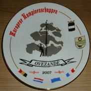 Assiette Championnats Internationaux D'Europe Pays-Bas- Europese Kampioenschappen Nederland - Archery