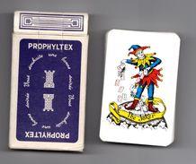 Jeu De 54 Cartes   Prophyltex Preservatifs - Cartes à Jouer Classiques