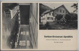 Kurhaus-Restaurant Alpenblick Wolfisberg Bei Niederbipp - BE Berne
