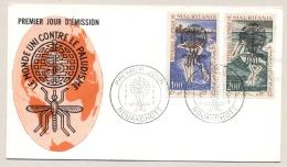 Mauretanie - 1962 - 100Fr & 200 Fr Anti Malaria Set On FDC - Not Sent - Mauritanië (1960-...)