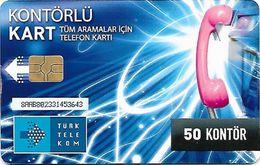 TURQUIE  50 KONTOR - Turquie