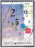 SOUTH KOREA 2000 41st Intl.Mathemmatical Olympiad MNH. - Corea Del Sud