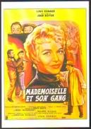 Carte Postale Illustration : Jean Mascii (cinéma Affiche Film) Mademoiselle Et Son Gang (Line Renaud) - Affiches Sur Carte