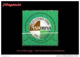 AMERICA. COLOMBIA MINT. 1999 CENTENARIO DE LA ASPIRINA - Colombia