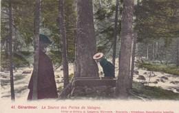 CPA Gérardmer, La Source Des Perles De Vologne (pk37647) - Gerardmer