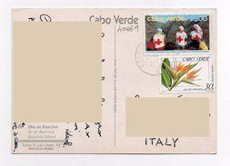 Croce Rossa Red Cross Cros - CABO VERDE Capo Verde - Ilha Da Boavista  - Storia Postale - Isola Di Capo Verde