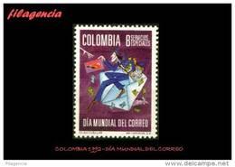 AMERICA. COLOMBIA MINT. 1992 DÍA MUNDIAL DEL CORREO - Colombia