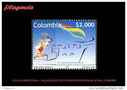 AMERICA. COLOMBIA MINT. 2006 XX JUEGOS CENTROAMERICANOS & DEL CARIBE - Colombia