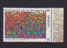 URUGUAY, 2017, CELEBRATIONS, CARNIVAL IN URUGUAY, 1v - Carnival