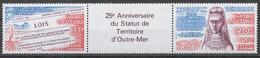 Wallis And Futuna 512-13** FRENCH OVERSEAS TERRITORY STATUS, 25th ANNIV. - Ungebraucht