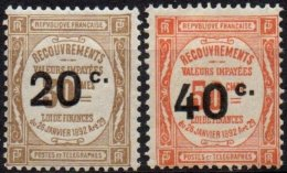 FRANCE - Les 2 Timbres De 1917 Neufs TTB - Taxes
