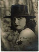 C1925 Superbe Photo, Carmen Granados, Danseuse De Flamenco, Spanish Avant-Garde, Photographe R. Sobol Paris - Personalità