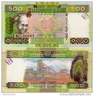 GUINEA      500 Francs      P-New      2015      UNC - Guinea