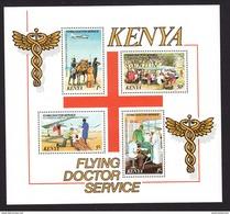 Kenya, Scott #165a, Mint Never Hinged, Flying Doctor Service, Issued 1980 - Kenya (1963-...)