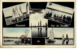 Souvenir Du Lac De Virelles Multivues (5) Couleur - Chimay