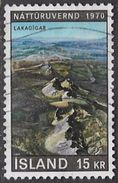 Iceland SG479 1970 Nature Conservation Year 15k Good/fine Used [34/29251/6D] - Used Stamps