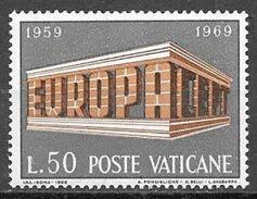 1969  50L Europa, Mint Never Hinged - Vatican