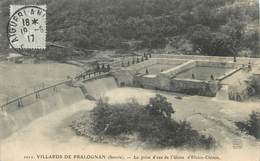 """CPA FRANCE 73 """" Le Villard De Pralognan, La Prise D'eau De L'Usine D'électro-chimie"""" - France"""