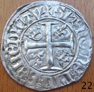 Blanc Guénar Charles VI - 1380-1422 Charles VI Le Fol