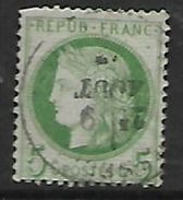 France: 1872, 5c Green / Green Ceres,   Used - 1871-1875 Ceres