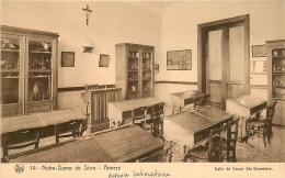 Belgique ANVERS Notre Dame De Sion Salle De Cours Sainte Geneviève CPA Sépia N°14 Thill /Nels - Antwerpen