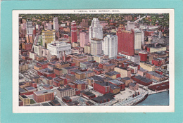 Old Postcard Of Aerial View,Detroit,Michigan,USA.Y38. - Detroit