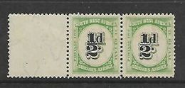 South West Africa,  1931 1/2d Postage Due Pair MNH ** - South West Africa (1923-1990)