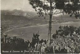 MARINA DI CARRARA DA BOCCA DI MAGRA (392) - Carrara