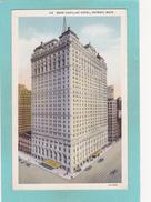 Old Postcard Of Book Cadillac Hotel,Detroit,Michigan,USA.Y38. - Detroit