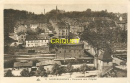 57 Sarreguemines, Panorama Vers L'Hopital, Trains Au 1er Plan... - Sarreguemines