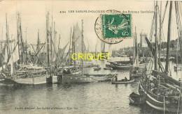 85 Les Sables D'Olonne, La Rentrée Des Bateaux Sadiniers, Beau Plan Rapproché Des Chalutiers, Affranchie 1912 - Sables D'Olonne