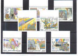 GUT555 VATICAN 1986  MICHL  899/06 ** Postfrischer SATZ Siehe ABBILDUNG - Vatikan
