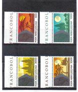 GUT558 VATICAN 1990  MICHL  1014/17 ** Postfrischer SATZ Siehe ABBILDUNG - Vatikan