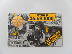 F2 JOURNAL TELEPHONE - 50U - BUL1 - - 1988