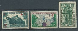 FRANCE 1941 . N°s 502 , 503 Et 504  Neufs **  (MNH) - France