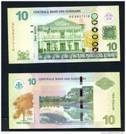 SURINAM  -  1st April 2012  10SD  As Scan - Suriname
