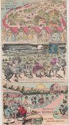 31 Barbazan 5 Cartes Postales Anciennes Cpa Thème Scatologique Dont Une à Système Humour Scato - Barbazan