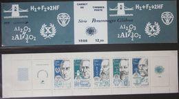 France - Carnet Personnages Célèbres - 1986 - YT BC2400A - Personnages