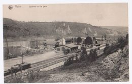 Cpa Yvoir Gare - Yvoir