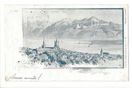 17131 - Lausanne Cachet 1898 - VD Vaud