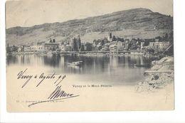 17141 -  Vevey Et Le Mont Pèlerin Envoyée 1899 - VD Vaud