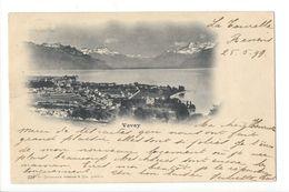 17143 -   Vevey Envoyée 1899 - VD Vaud