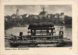 8858 Neuburg An Der Donau - Alte Wasserräder - Neuburg
