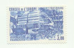 84 - Conseil De L'Europe - 3f.00 Bleu (1984) - Neufs