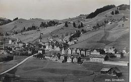URNÄSCH → Fotokarte Frei & Co. St.Gallen Dorfansicht Ca.1940 - AR Appenzell Rhodes-Extérieures