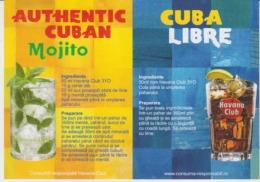 Havana Club Havana In The Street Menu Authentic Cuban And Cuba Libre - Menus