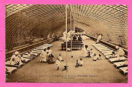 CPA -  PIETREBAIS  --  Sanatorium  Du  Domaine  De  La  Chise  --  Cour  D' Hiver - Incourt