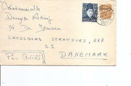 Portugal ( Lettre Par Avion De 1949 Vers Le Danemark à Voir) - 1910-... Republik